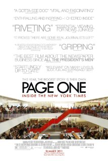 Page One: Inside the New York Times (2011) DVD Release Date