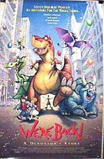 We're Back! A Dinosaur's Story (1993) DVD Release Date