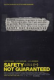 Safety Not Guaranteed DVD Release Date