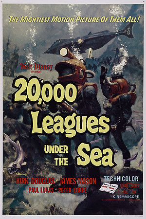 20000 Leagues Under the Sea (1954) DVD Release Date