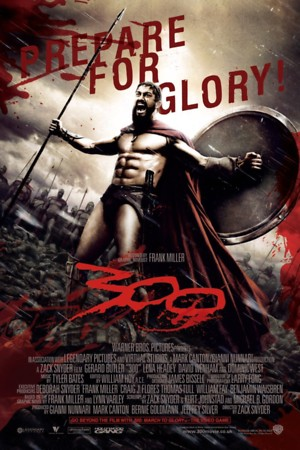 300 2006 DVD Release Date Movie Poster