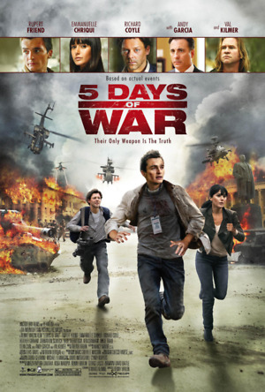 5 Days of War (2011) DVD Release Date