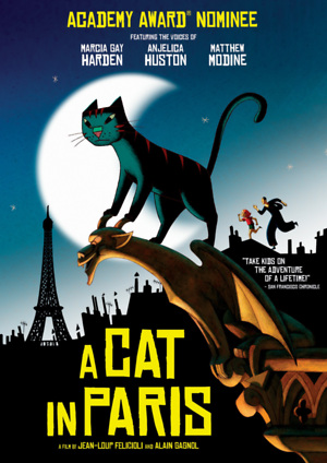 A Cat in Paris (2010) DVD Release Date