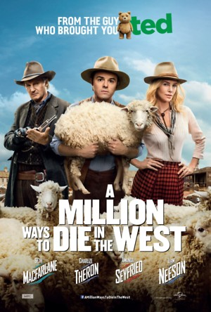 A Million Ways to Die in the West (2014) DVD Release Date
