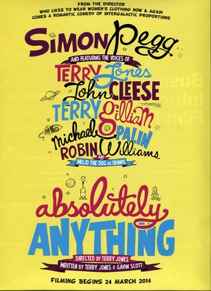 Absolutely Anything (2015) DVD Release Date