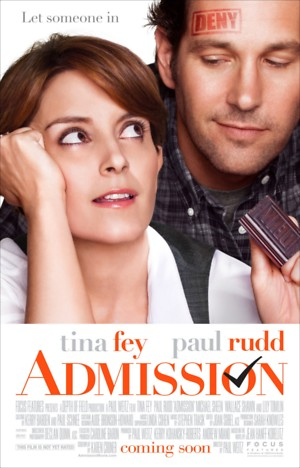 Admission (2013) DVD Release Date