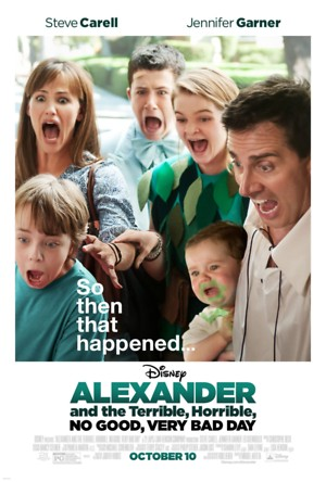 Alexander and the Terrible, Horrible, No Good, Very Bad Day (2014) DVD Release Date