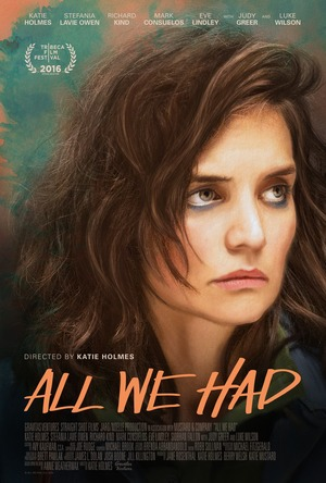 All We Had (2016) DVD Release Date