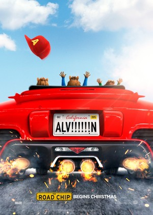 Alvin and the Chipmunks: The Road Chip (2015) DVD Release Date