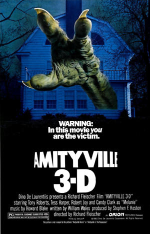 Amityville 3-D (1983) DVD Release Date