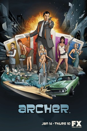 Archer (TV Series 2009) DVD Release Date