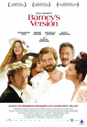 Barney's Version (2010) DVD Release Date