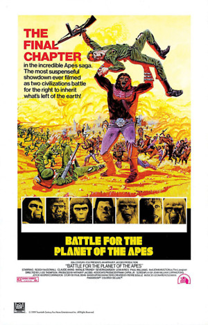 Battle for the Planet of the Apes (1973) DVD Release Date