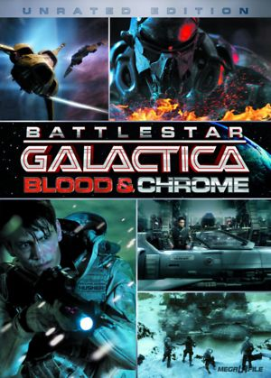Battlestar Galactica: Blood and Chrome (TV 2012) DVD Release Date