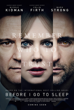 Before I Go to Sleep (2014) DVD Release Date