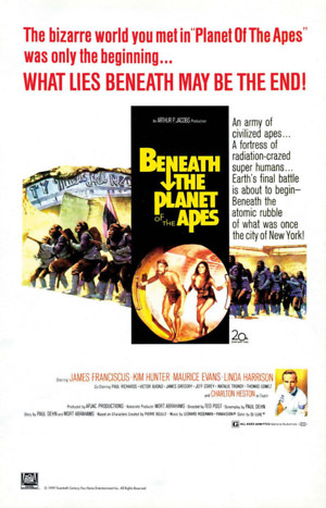 Beneath the Planet of the Apes (1970) DVD Release Date