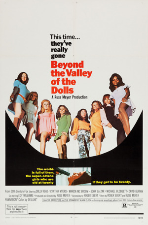 Beyond the Valley of the Dolls (1970) DVD Release Date