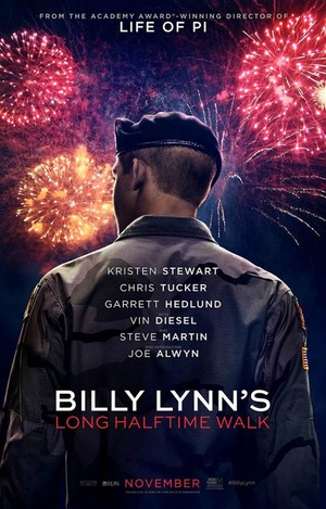 Billy Lynn's Long Halftime Walk (2016) DVD Release Date