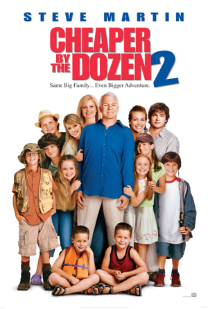 Cheaper by the Dozen 2 (2005) DVD Release Date