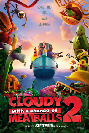 Cloudy with a Chance of Meatballs 2 (2013) DVD Release Date