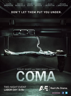 Coma (TV 2012) DVD Release Date