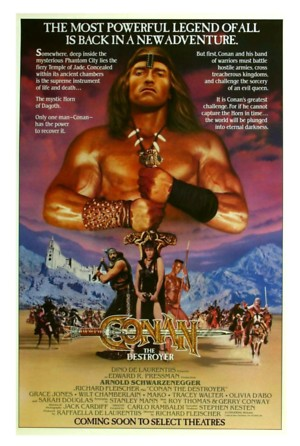 Conan the Destroyer (1984) DVD Release Date