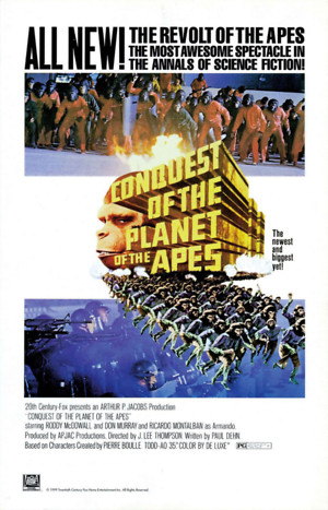 Conquest of the Planet of the Apes (1972) DVD Release Date