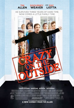 Crazy on the Outside (2010) DVD Release Date