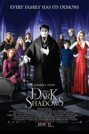 Dark Shadows (2012) DVD Release Date