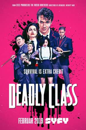 Deadly Class (TV Series 2018- ) DVD Release Date