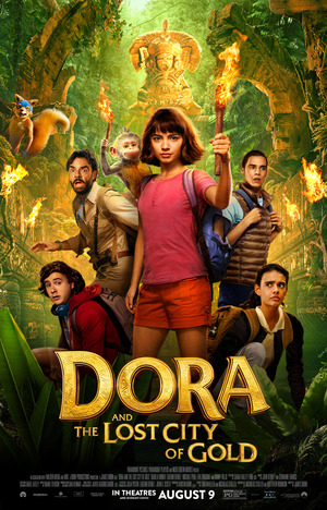 Dora and the Lost City of Gold DVD Release Date