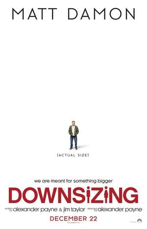 Downsizing (2017) DVD Release Date