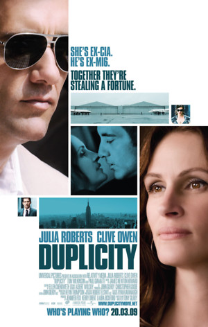 Duplicity (2009) DVD Release Date