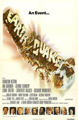 Earthquake (1974) DVD Release Date