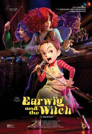 Earwig and the Witch (TV Movie 2020) DVD Release Date