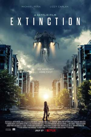 Extinction (2018) DVD Release Date