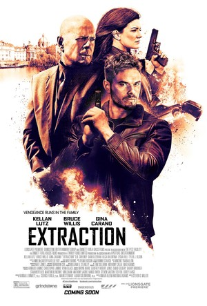 Extraction (2015) DVD Release Date