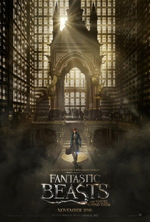 Fantastic beasts and where to find them movie release date in Brisbane