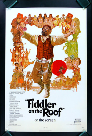 Fiddler on the Roof (1971) DVD Release Date