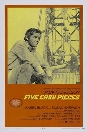 Five Easy Pieces (1970) DVD Release Date