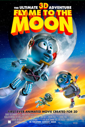 Fly Me to the Moon 3D (2008) DVD Release Date