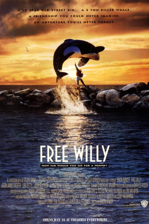 Free Willy (1993) DVD Release Date