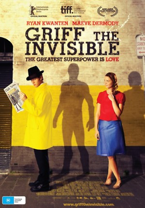 Griff the Invisible (2010) DVD Release Date
