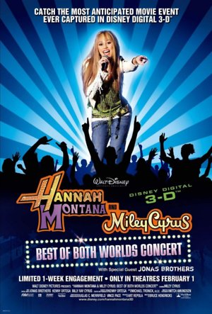 Hannah Montana & Miley Cyrus: Best of Both Worlds Concert (2008) DVD Release Date