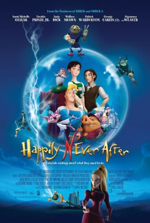 Happily N'Ever After (2007) DVD Release Date