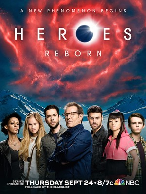 Heroes Reborn (TV Mini-Series 2015) DVD Release Date