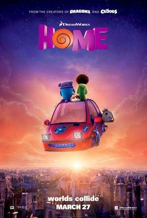 Home (2015) DVD Release Date