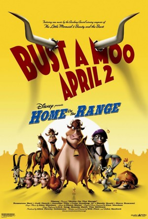 Home on the Range (2004) DVD Release Date