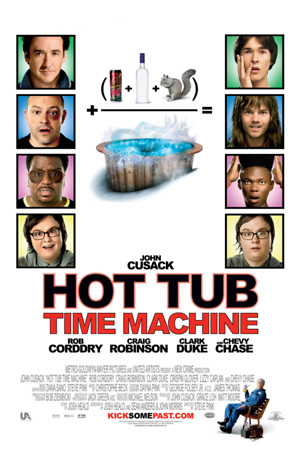 Hot Tub Time Machine (2010) DVD Release Date