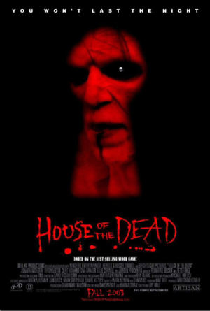 House of the Dead (2003) DVD Release Date